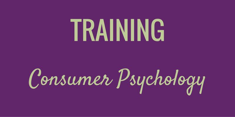 Consumer Psychology Training