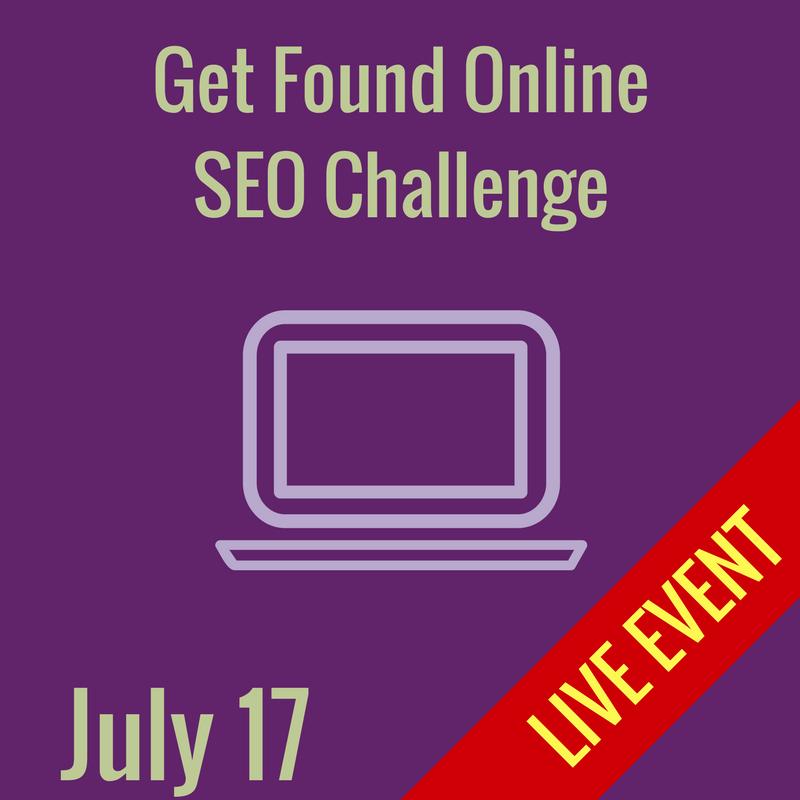 Get Found Online SEO Challenge