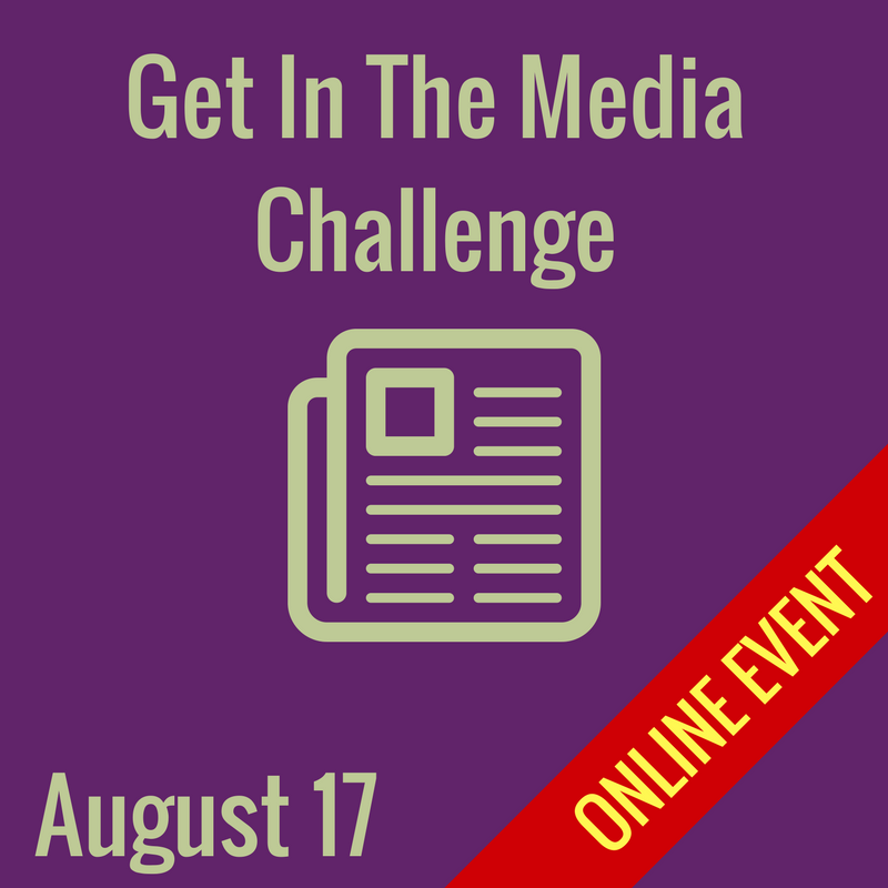 get in the media challenge
