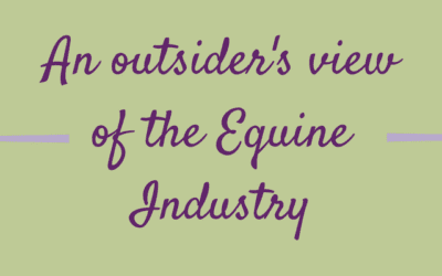 From the other side of the gate: an outsider's view of the Equine Industry