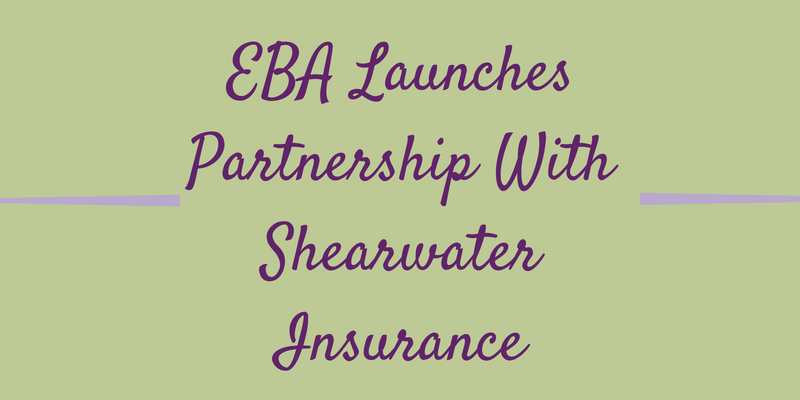 EBA Launches Partnership With Shearwater Insurance