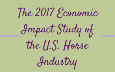 "the economic impact of the horse industry essay National summary 2 project background in 1996, the american horse council foundation (""ahcf"") commissioned the barents group llc to perform a study to estimate the economic impacts of the."
