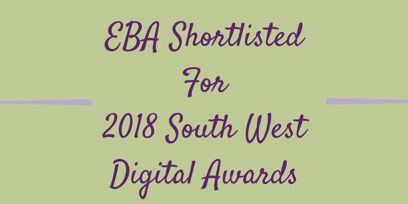 EBA Shortlisted For 2018 South West Digital Awards