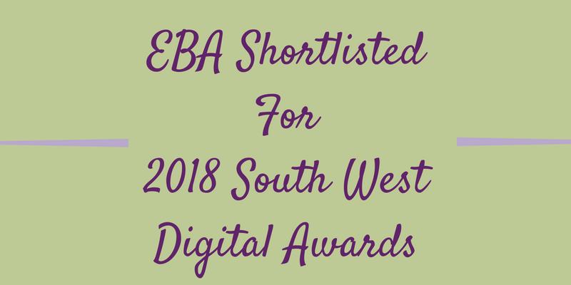 EBA Shortlisted For 2018 South West Digital Awards